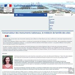 Conservateur des monuments nationaux, le médecin de famille des (...) - Consulat Général de France à Miami