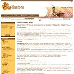 Composition et conservation du miel - Abeillestore