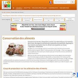 La conservation des aliments - Nicolas AUBINEAU