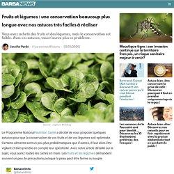 Fruits et légumes : une conservation beaucoup plus longue avec nos astuces très faciles à réaliser