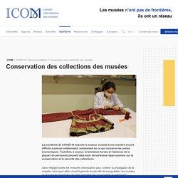 Conservation des collections des musées - ICOM