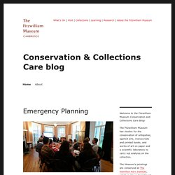 Conservation & Collections Care blog