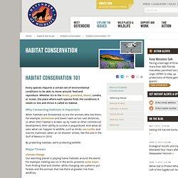 Habitat Conservation 101