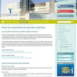 Accès et conservation des données médicales