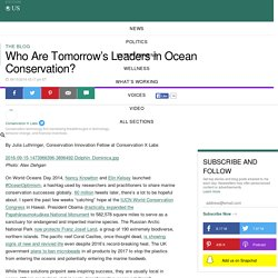Who Are Tomorrow's Leaders in Ocean Conservation?