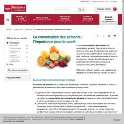 La conservation des aliments : l'importance pour la santé
