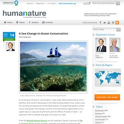 A Sea Change in Ocean Conservation