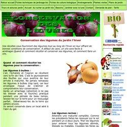 conservation des légumes: faire un silo à légumes