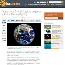 Overshoot Day: Living too Large on a Finite Planet