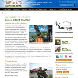 Hawk Mountain Sanctuary: Raptor Conservation, Education, Observation & Research