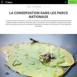 La conservation dans les parcs nationaux