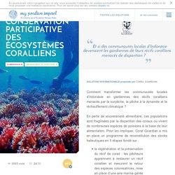 Conservation participative des écosystèmes coralliens