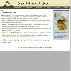 Great Pollinator Project