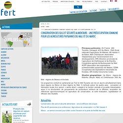 Conservation des sols et sécurité alimentaire: une préoccupation commune pour les agricultures paysannes du Mali et du Maroc