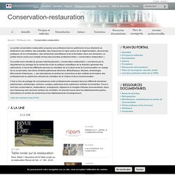 Conservation-restauration