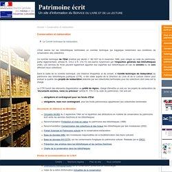 [FR] Patrimoine écrit (MCC - SLL)