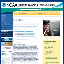 NOAA Invasive Species