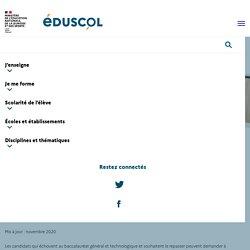 Conservation des notes au baccalauréat général et technologique