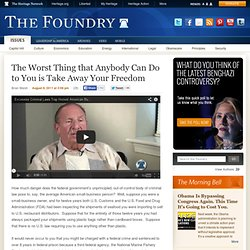 The Foundry: Conservative Policy News from The Heritage Foundation