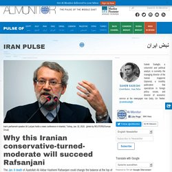 Why this Iranian conservative-turned-moderate will succeed Rafsanjani