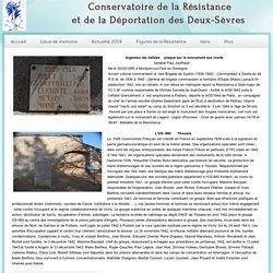 Conservatoire de la Résistance de Thouars 79 - région de Thouars