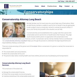 Conservatorship Attorney Long Beach - Hannah G. Elisha, Esq.