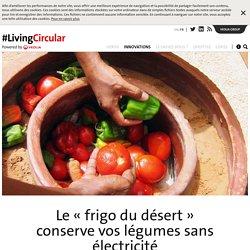 Le «frigo du désert» conserve vos légumes sans électricité
