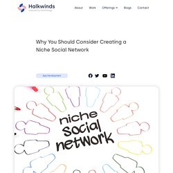 Why You Should Consider Creating a Niche Social Network