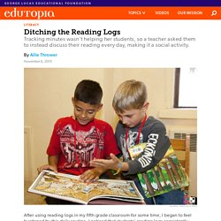 Why You Should Consider Ditching Reading Logs