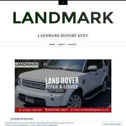 Tips to Consider During Landrover Repair and Service