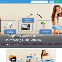 Things To Consider Before Purchasing OMR Software