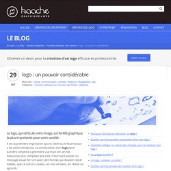 logo : un pouvoir considérable - Infographiste Colmar, Kaache