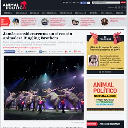 Jamás consideraremos un circo sin animales: Ringling Brothers