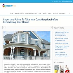 Useful Tips For Remodeling Of Your House