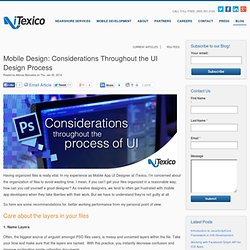 Mobile Design: Considerations Throughout the UI Design Process