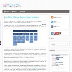 Social CRM: une définition par Altimeter et quelques considérations