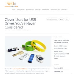 Clever Uses for USB Drives You've Never Considered