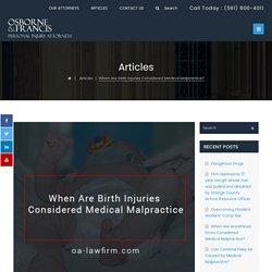 Medical Malpractice Attorneys - Osborne & Francis Law Firm, PLLC