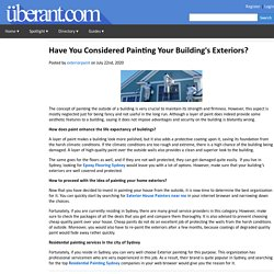 Have You Considered Painting Your Building's Exteriors?