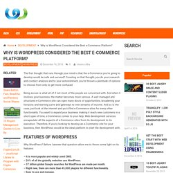 Why is WordPress Considered the Best e-Commerce Platform? – WebToolsDepot