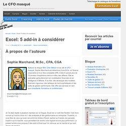 Excel : 5 add-in à considérer pour plus de performance