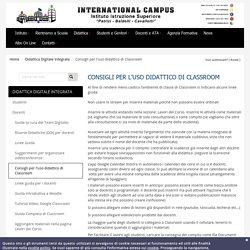 Consigli per l'uso didattico di Classroom