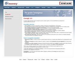 Consigli utili per il recupero dei dati - TheRecovery