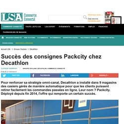Click and Collect chez Decathlon (Pack City)