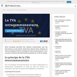 En quoi consiste la TVA intracommunautaire ?