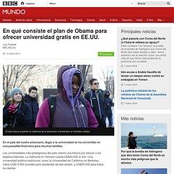 BBC - En qué consiste el plan de Obama para ofrecer universidad gratis en EE.UU.