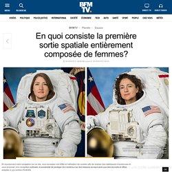 En quoi consiste la première sortie spatiale entièrement composée de femmes?
