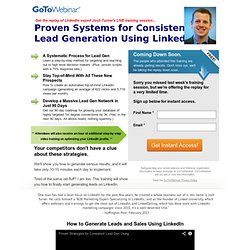 Proven Systems for Consistent Lead Generation Using LinkedIn