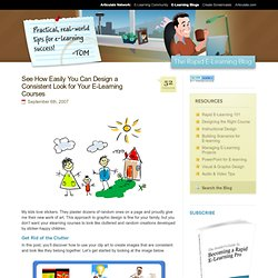 See How Easily You Can Design a Consistent Look for Your E-Learning Courses