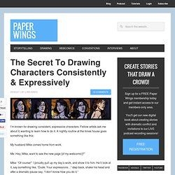 The Secret To Drawing Expressive, Consistent Characters | Paper Wings Podcast